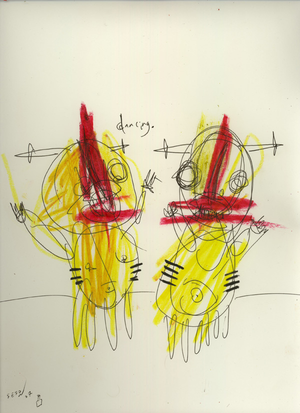 matt sesow bukowski linda king painting