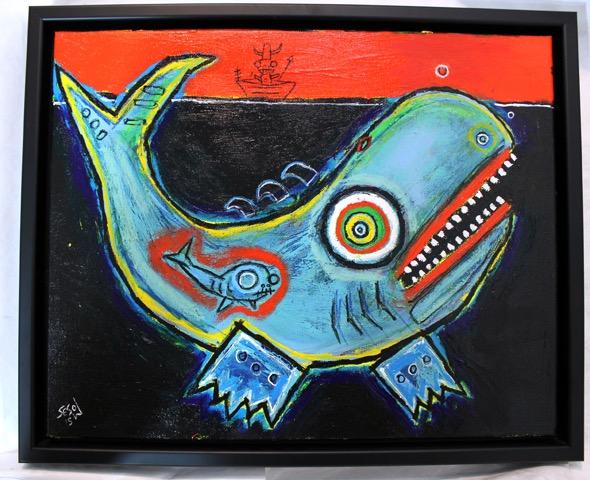 matt sesow museum painting