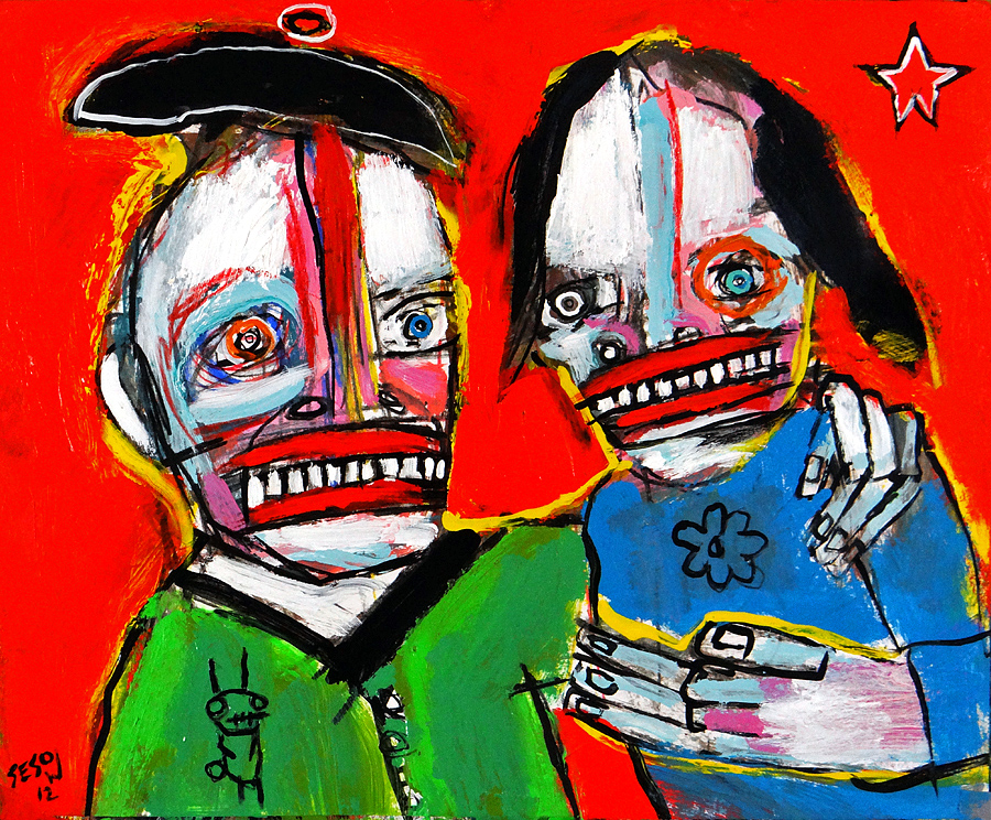 matt sesow 2012 paintings