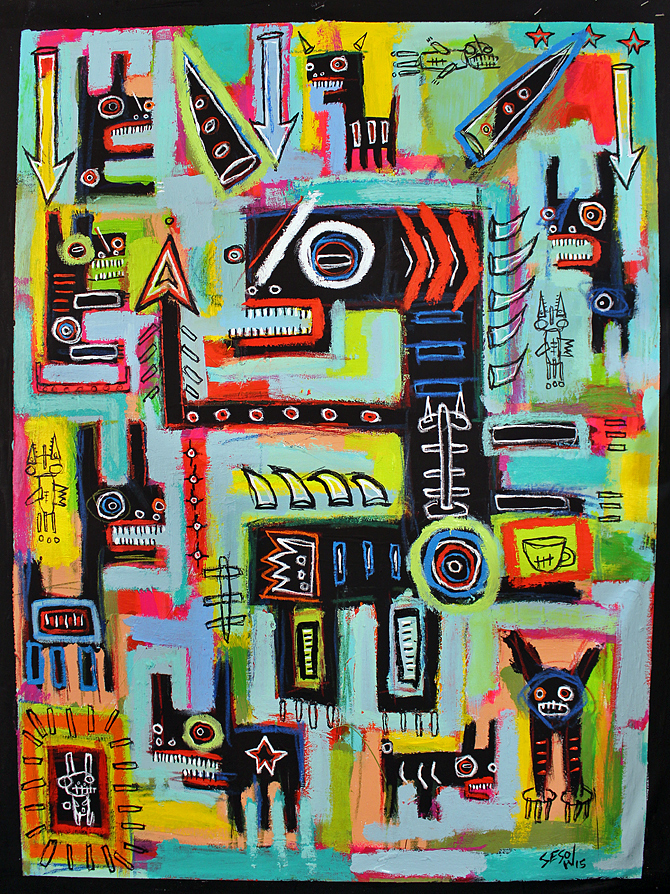 matt sesow 2015 paintings