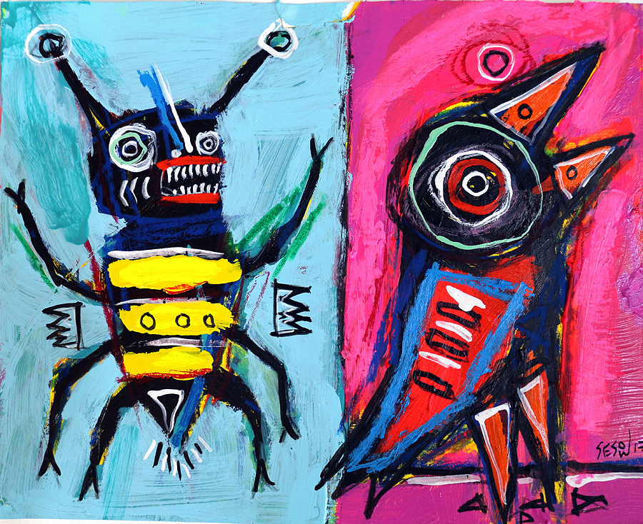 matt sesow 2017 paintings