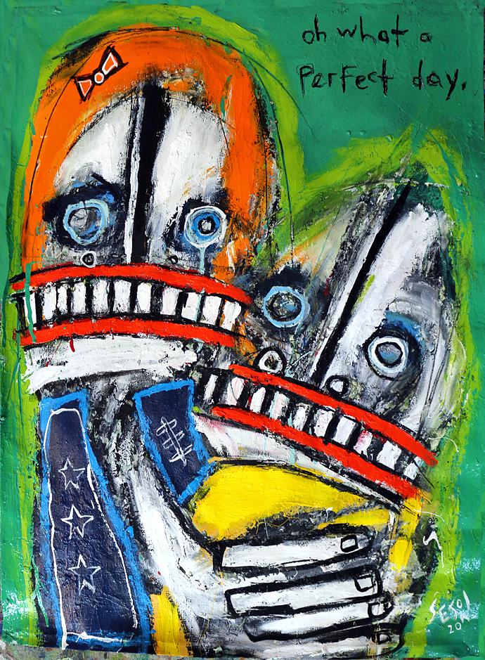 matt sesow 2020 paintings