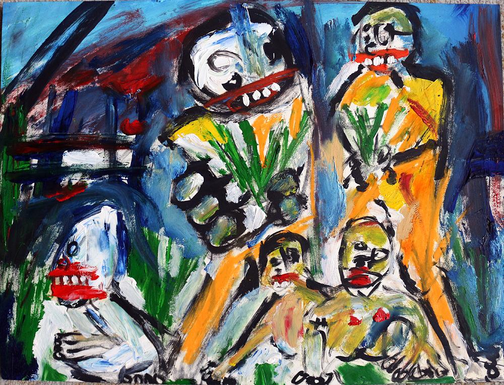 matt sesow 2019 paintings