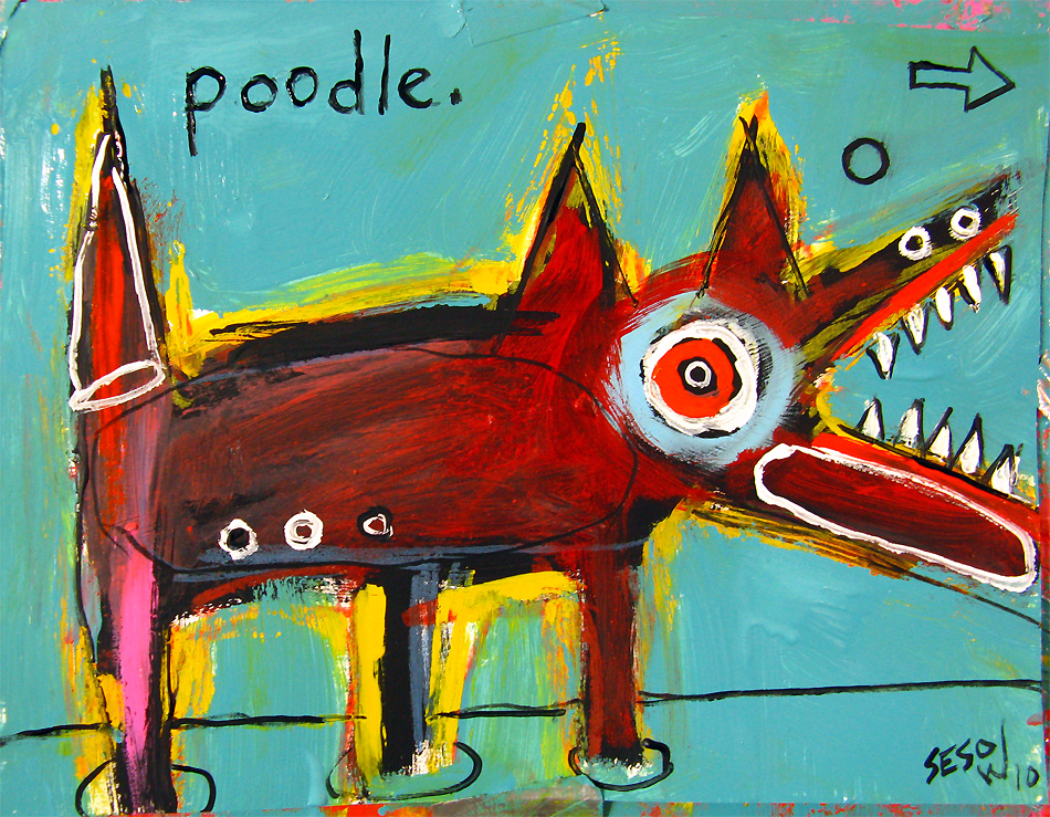 matt sesow 2010 new paintings