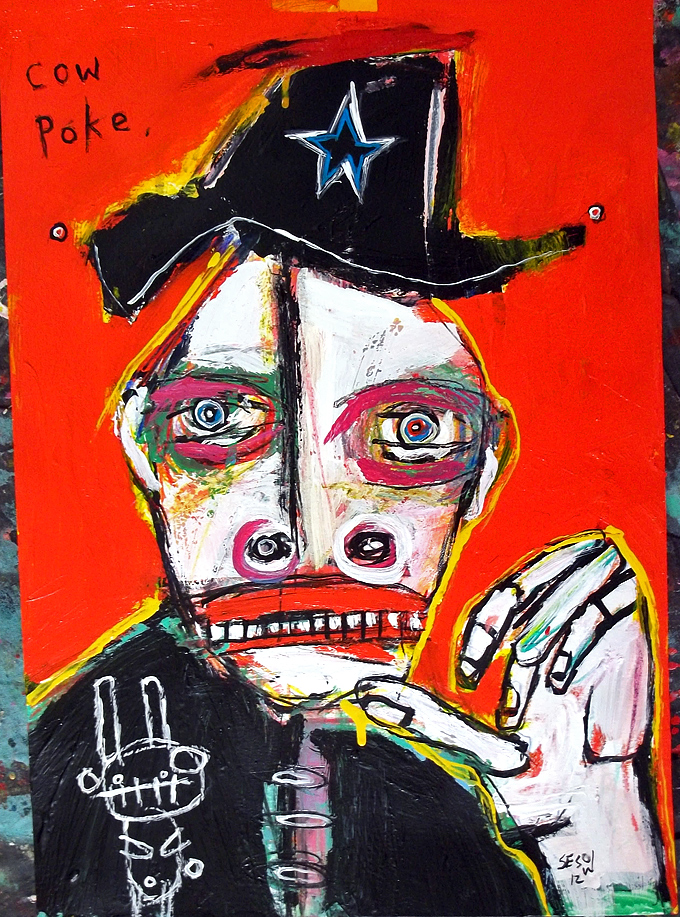 matt sesow 2011 paintings