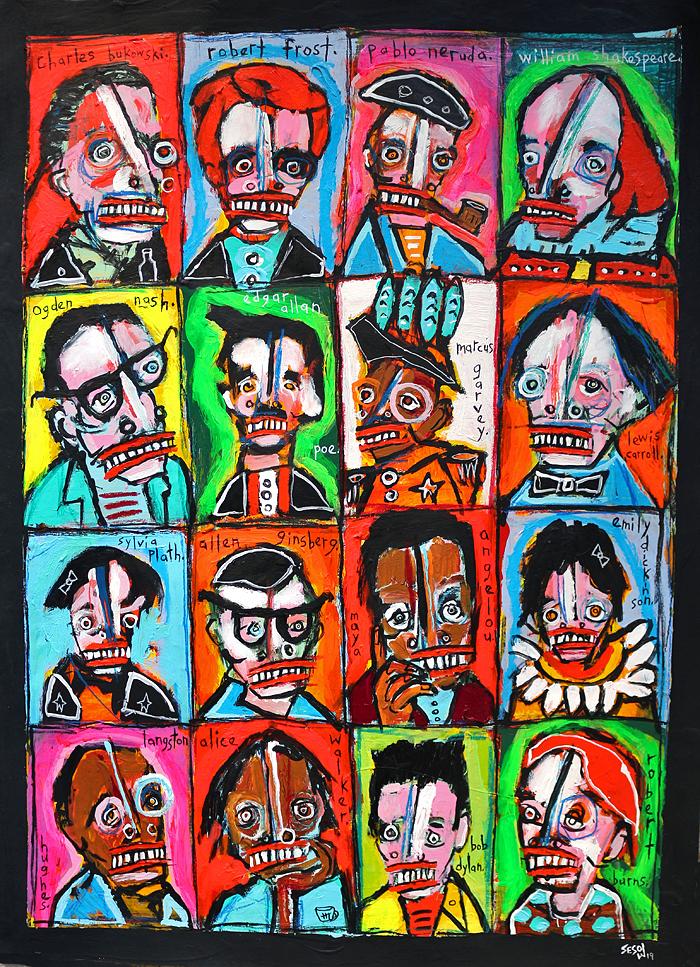 matt sesow 2018 paintings