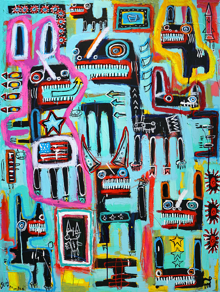 matt sesow 2018 paintings