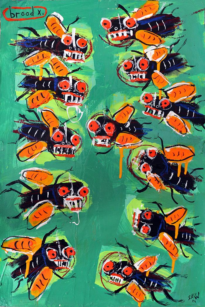 matt sesow NEW paintings
