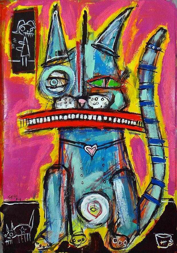 matt sesow 2013 paintings