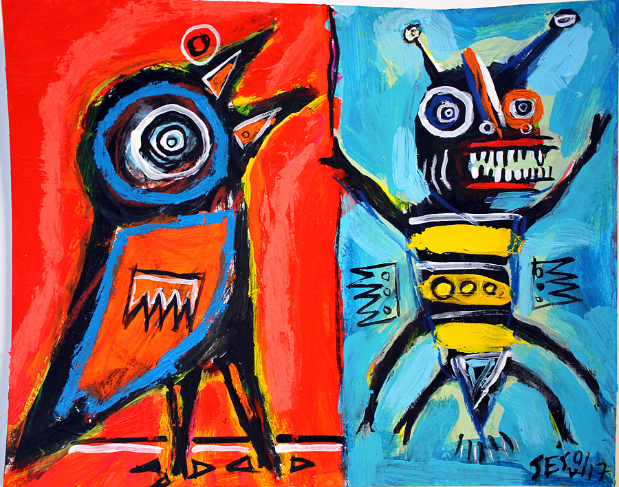 matt sesow 2016 paintings
