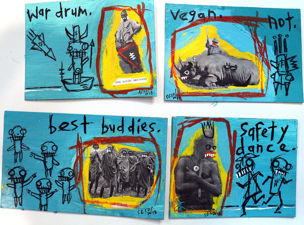 matt sesow 2010 new paintings