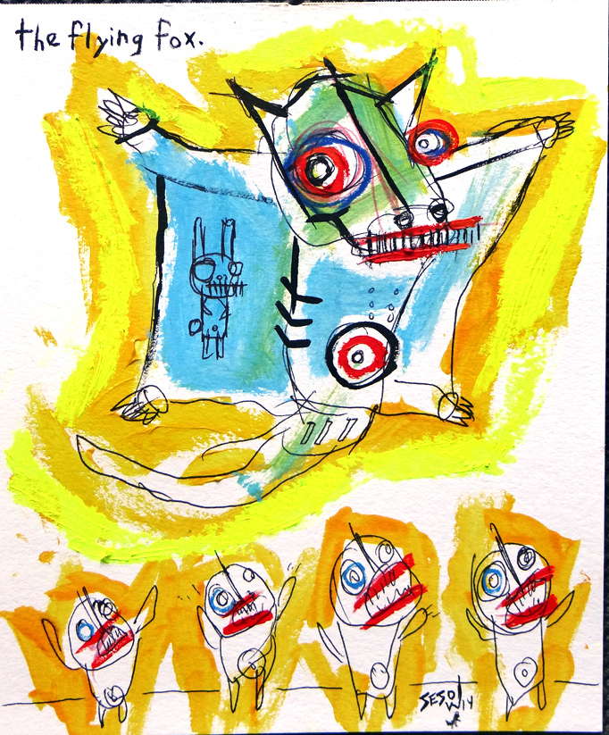 matt sesow 2014 paintings
