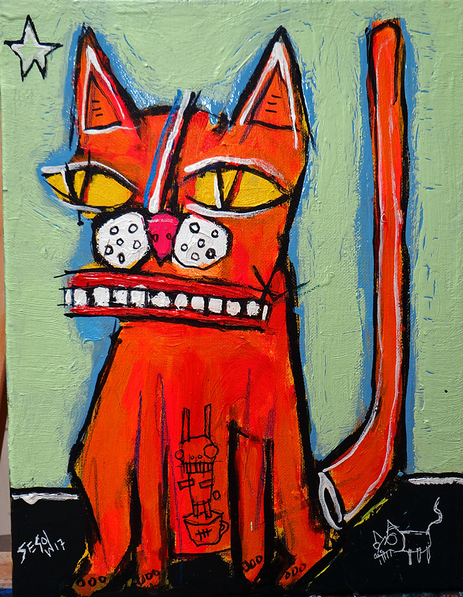 matt sesow 2017 paintings