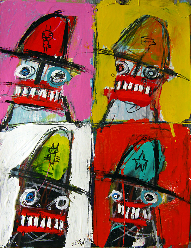 matt sesow small paintings